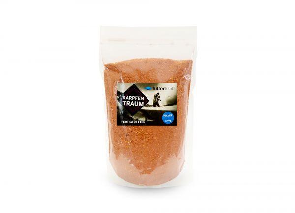 Karpfentraum Fertigfutter Lockfuttermischung Pulver 1.000g